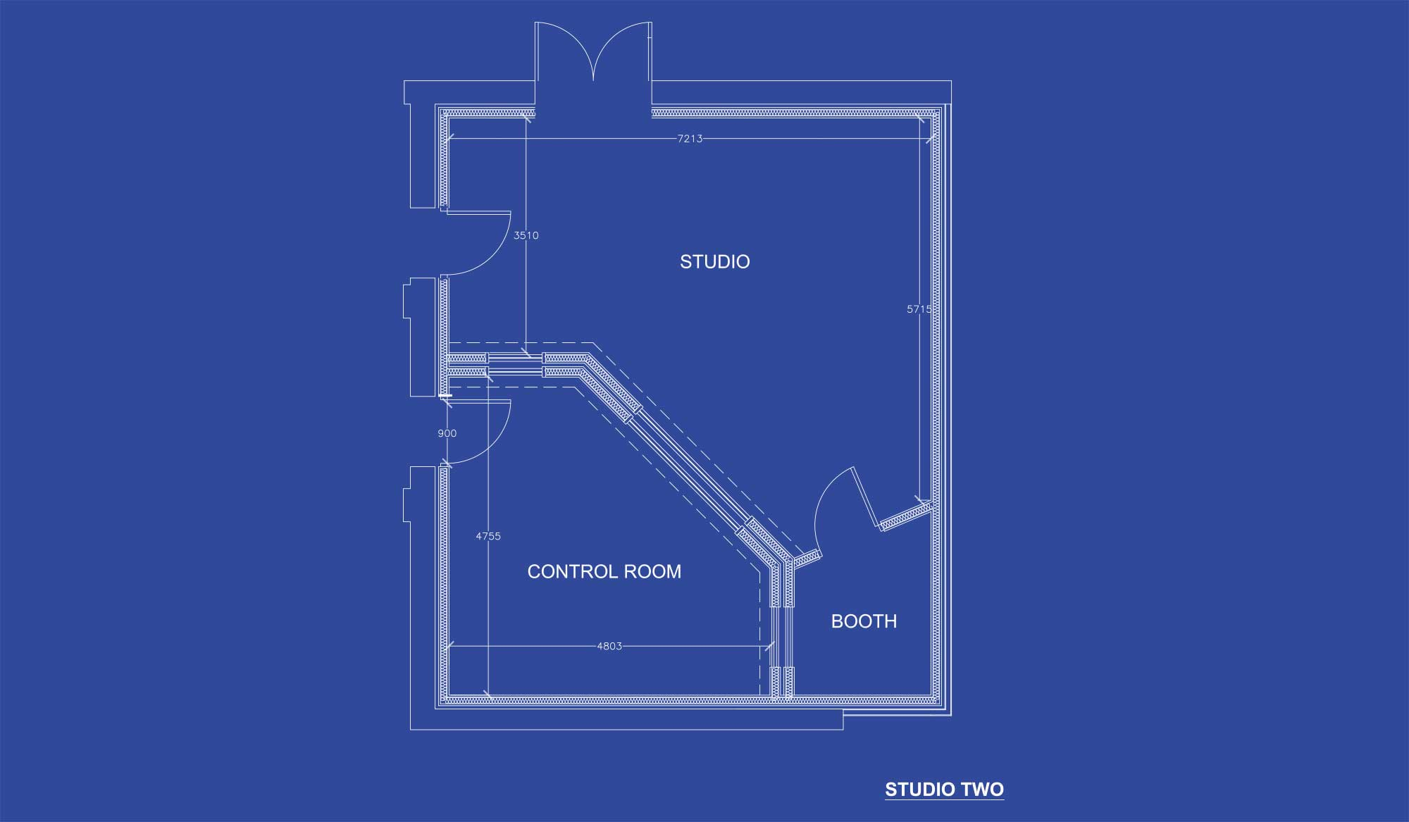 Gorbals Sound Studio 2 Blueprints