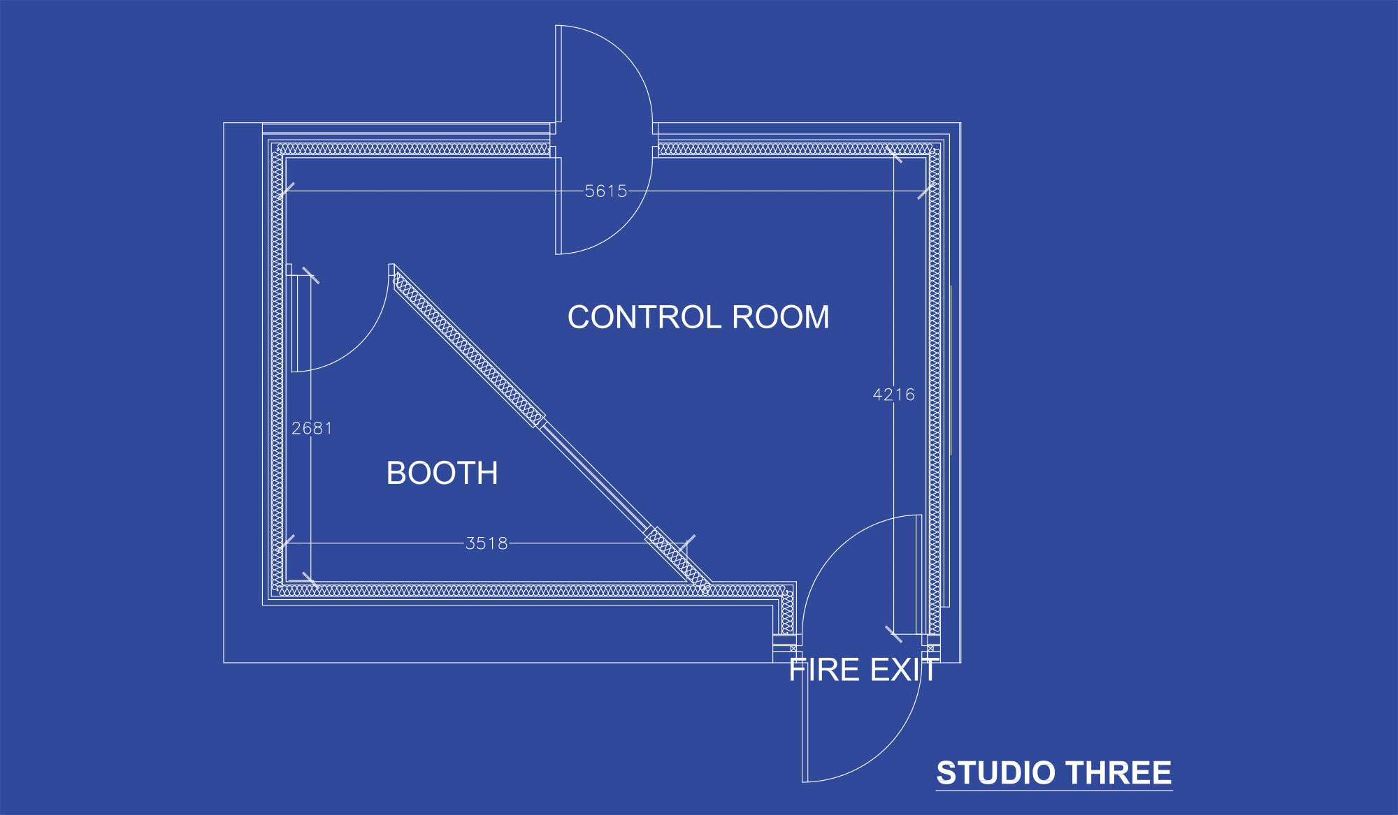 Gorbals Sound Studio 3 Blueprint